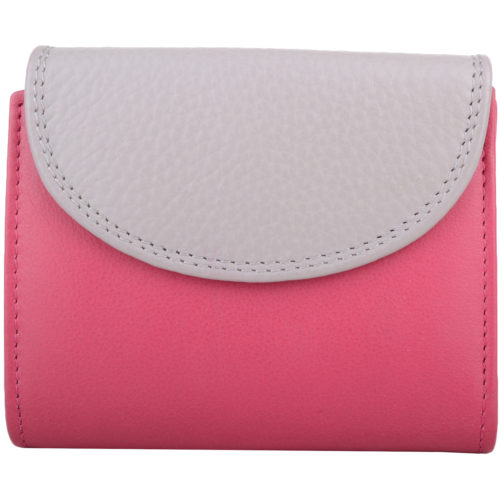 Soft Leather Bi-Fold Purse Multiple Features - Leanne