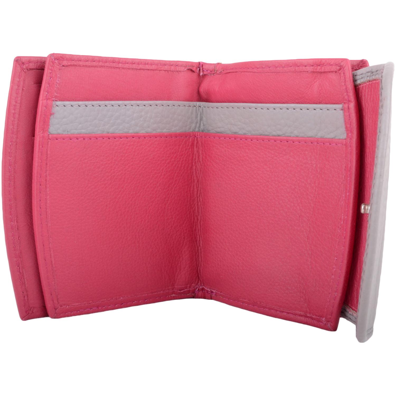 Soft Leather Bi-Fold Purse Multiple Features - Leanne