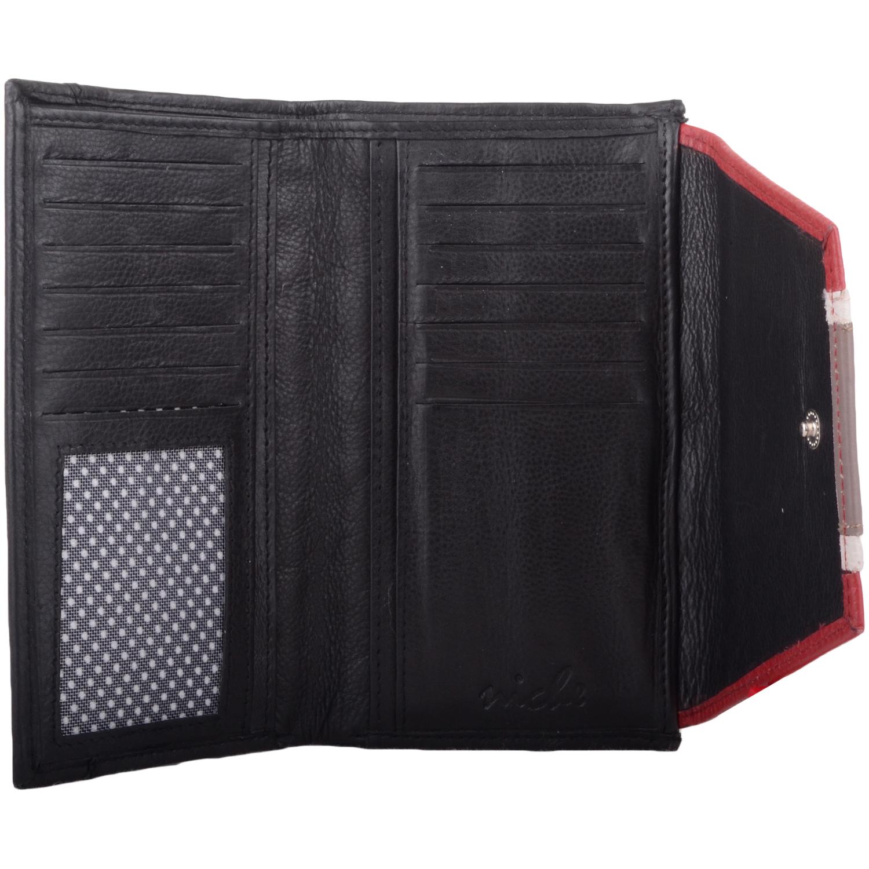 Genuine Soft Leather Tri-Fold Purse - Louisa