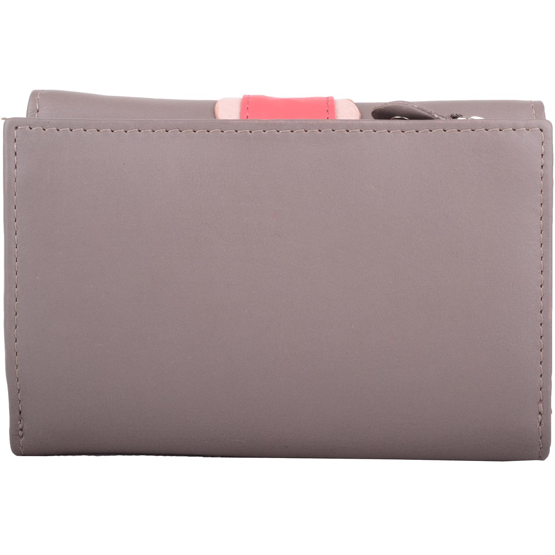 Soft Leather Multi-Colour Purse - Melanie