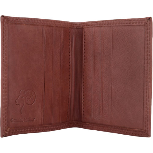 Soft Leather Credit Card Holder / Wallet - Rob