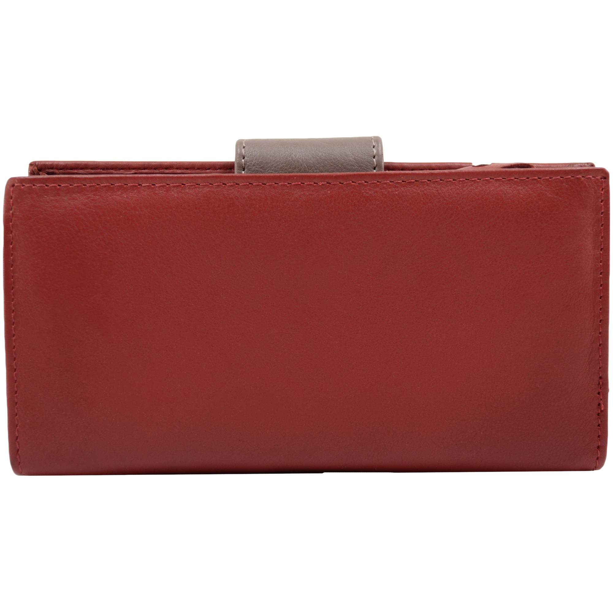 Soft Leather Purse Coin Holder - Sandy