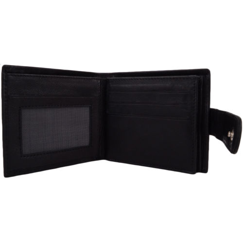 Leather Bi-Fold Wallet / Credit Card Holder - Simon