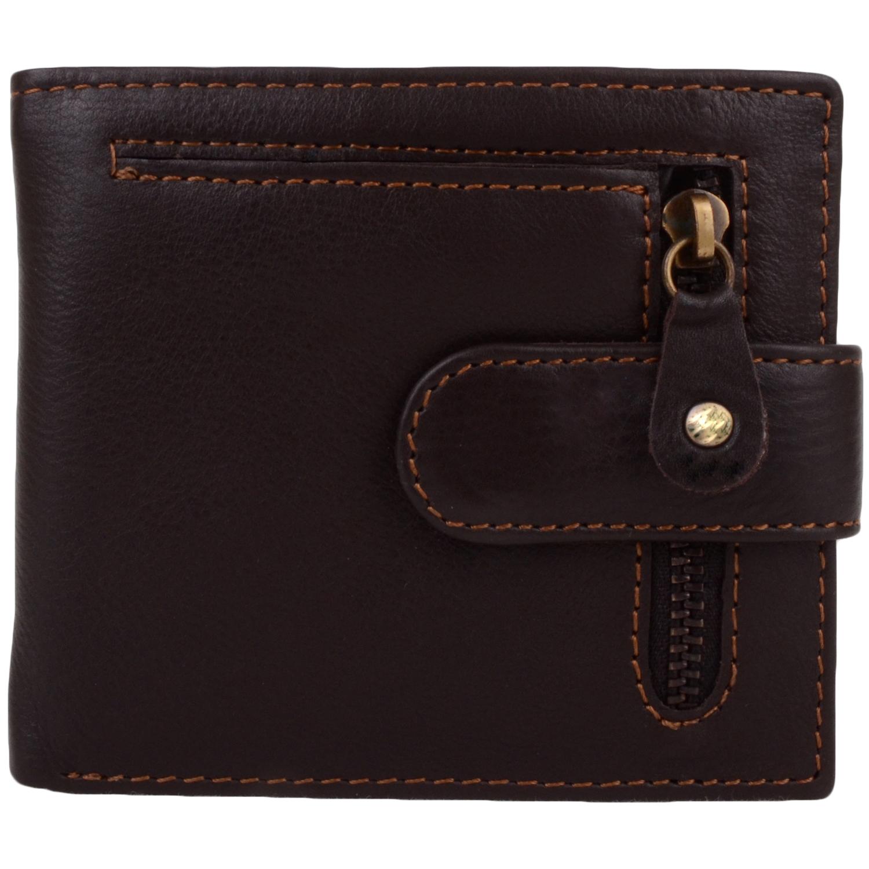 Leather Bi-Fold Wallet / Credit Card Holder - Simon