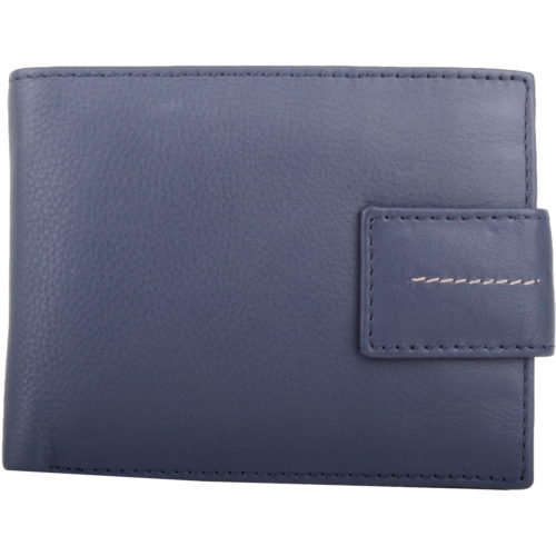 Soft Leather Bi-Fold Money / Credit Card Wallet - Warren