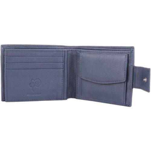 Soft Leather Bi-Fold Money / Credit Card Wallet - Warren