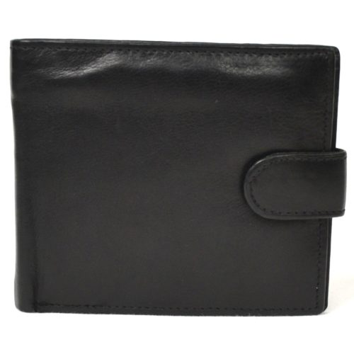 Bi-Fold Leather Wallet Multiple Sections - Harry