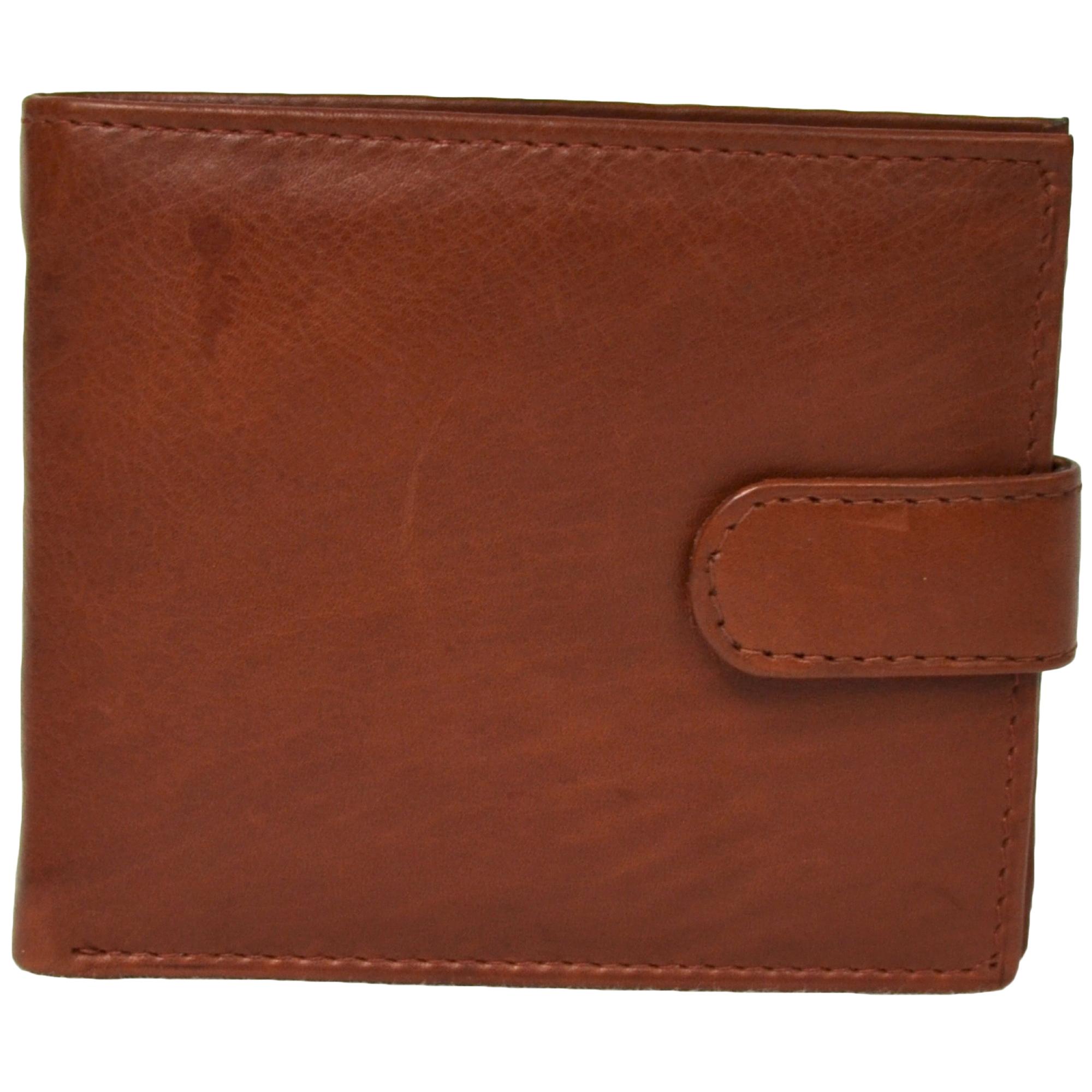 Bi-Fold Leather Wallet Multiple Sections - Harry