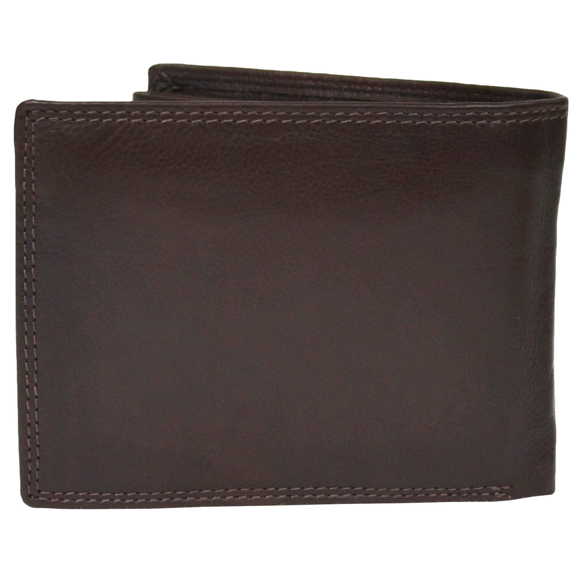 Soft Tri-Fold Leather Wallet - Sam