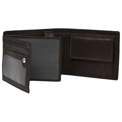 Soft Tri-Fold Leather Wallet - Sam