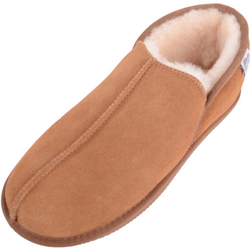 Mens Slip On Boot Slipper - Sheepskin Lining - Edward
