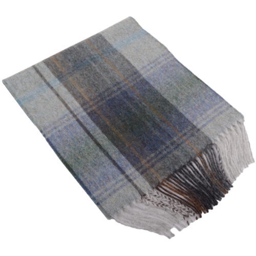 30cm x 185cm Lambswool Scarf - Country Check Westray