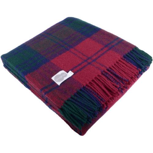 Lambswool Blanket 150cm x 183cm - Lindsay